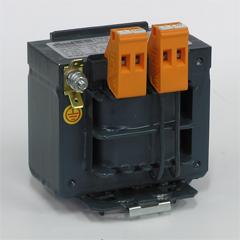 Однофазные изолирующие трансформаторы Elhand ET1o мощностью от 0,05 до 0,5 кВА на шине TS-35